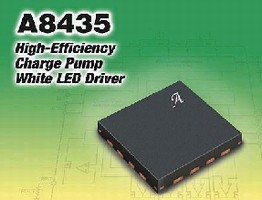 LED Driver suits portable electronics display applications.