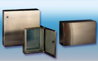 Stainless Steel Enclosures target industrial applications.