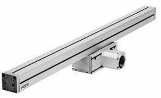 Cantilever Electric Linear Actuator operates at up to 3 m/s.