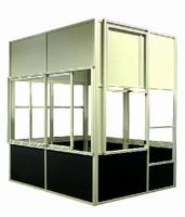 Machine Enclosures optimize machine's operating efficiency.