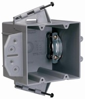 Wiring Boxes offer nail- or screw-on mount styles.