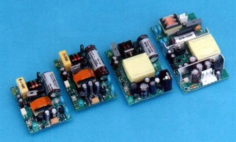 Ultraminiature Power Supplies provide 5-20 W output power.