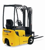 Counterbalance Forklift Trucks offer 3 load ratings.