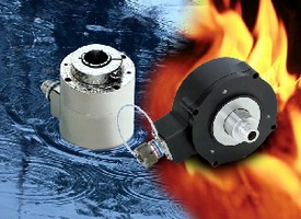 Optical Encoders handle harsh and explosive environments.