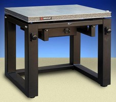 Vibration Isolation Workstation has 650 lb max capacity.
