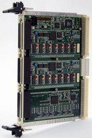 Multi-Function VME Communications Card takes up one slot.