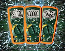 Industrial Multimeters withstand harsh environments.