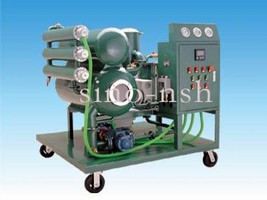Purification System improves properties of insulation oil.