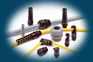 Cordgrips offer liquid-tight seal.