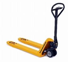 Hand Pallet Truck offers max load capacity of 5,500 lb.