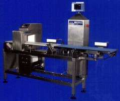 Checkweighing Systems incorporate choice of metal detectors.