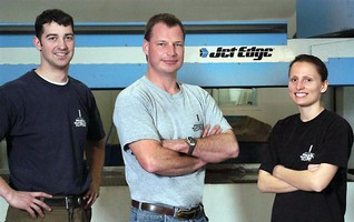 Profile Waterjet Cutting Proves the 'Sky's the Limit' with Jet Edge Waterjet
