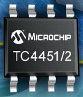 High-Speed MOSFET Drivers offer 12 A peak output current.
