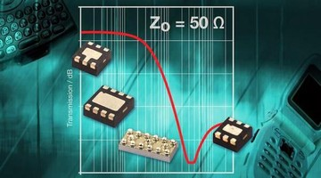Filter Arrays feature integrated ESD protection diodes.