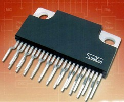 Driver IC targets office and factory automation markets.