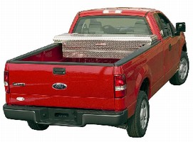 Truck Boxes feature low profile design for visibility.