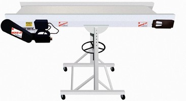 "Economical Bunting ""Move-It""(TM) Conveyors Save Time, Expense"