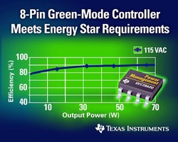 Texas Instruments Unveils Energy-Saving Chip for Consumer Electronics and AC Adapters