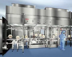 Bosch Pharmaceutical Division at Interphex 2006:Bosch Leads the way in Custom Made RABS and Isolator System Technology
