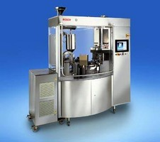 Filling Machine fills 84,000 capsules/hour.