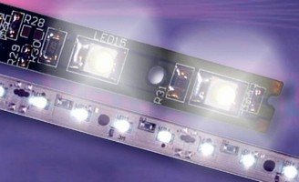 LED Strip Lighting features RoHS-compliant construction.