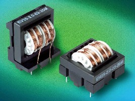 Suppression Chokes offer high inductance in compact size.