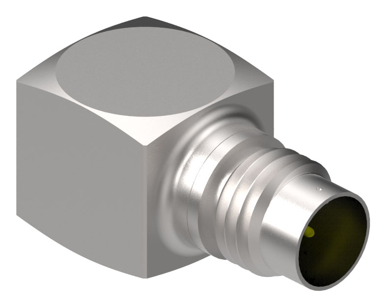 Triaxial Accelerometer features integrated electronics.