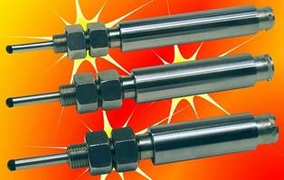 LVDT Position Sensors have spring-loaded shaft.