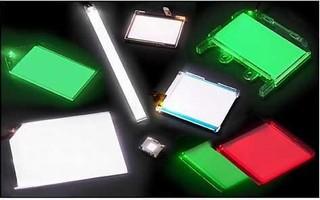 Molded LED Light Guides provide backlighting solution.