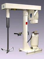 Dispersers mix high viscosity, non-flowing materials.