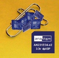 Analog Signal Processor operates with 3.3 V power supply.