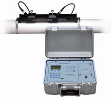 Ultrasonic Flow Meter measures bi-directional flows.