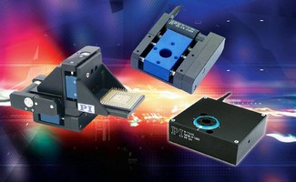 Miniature Translation / Rotation Stage Family Comes with Piezo Scanner Option