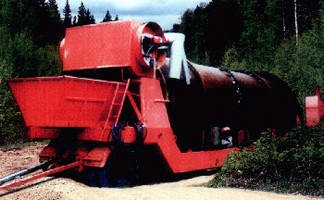 Mobile Rotary Kiln enables onsite soil remediation.