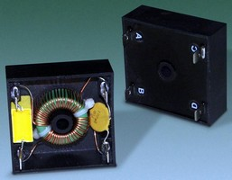 EMI Filters are offered with optional surge suppression.