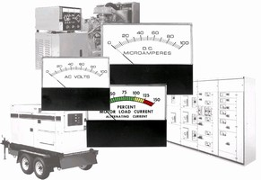 Analog Panel Meters monitor from PLC or transducer.