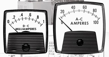 Analog Meters are offered in various dc and ac types.