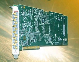 Digitizer Cards provide up to 8 channels.
