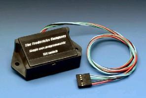 Programmable Tilt Switch offers ±45° sensing range.