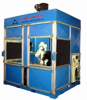 Robotic Cell offers alternative to semi-automatic welding.