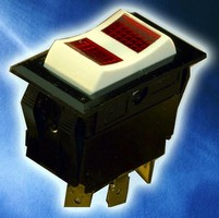Lighted Rocker Switches come in various lens colors/designs.
