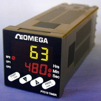 Programmable Timer features panel-mount, IP65 construction.