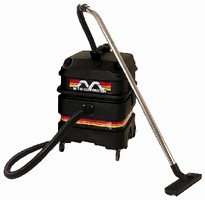 Industrial Wet/Dry Vacuums feature stackable design.