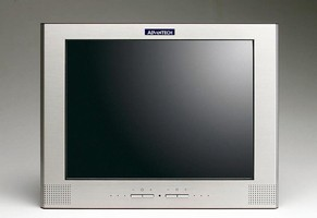 Panel PC features SS front bezel and metal rear cover.