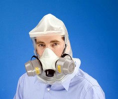 Emergency Escape Respirator is NIOSH capacity 2 approved.