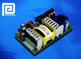 Open Frame Power Supply delivers 120 W.