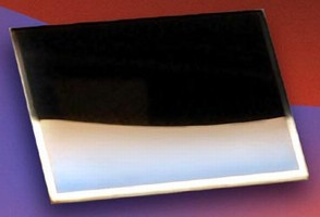 GaN-on-Diamond Wafer has gallium facing surface.