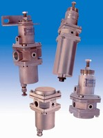 Pneumatic/Filter Regulators are made of stainless steel.