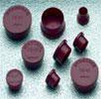 Electrical Connector Caps are made of polyethylene.