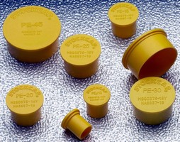 Electrical Connector Plugs are made of polyethylene.